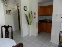 Entry, Kitchen, Dining Area